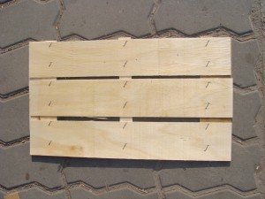 wooden bottoms for fruit boxes