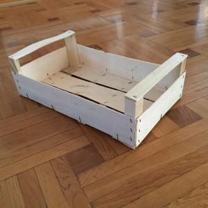 дървени щайги за зеленчуци